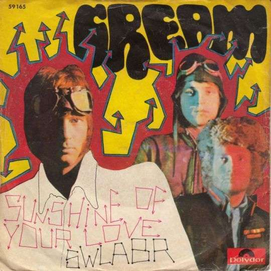 Coverafbeelding Sunshine Of Your Love - Cream