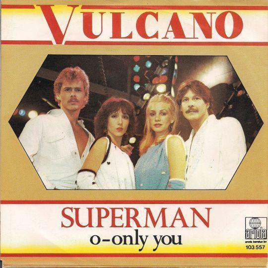 Coverafbeelding Superman - Vulcano