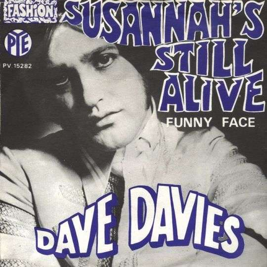Coverafbeelding Susannah's Still Alive - Dave Davies