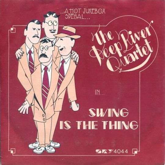 Coverafbeelding The Deep River Quartet - Swing Is The Thing