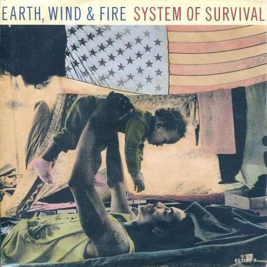 Coverafbeelding System Of Survival - Earth, Wind & Fire