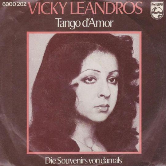 Coverafbeelding Tango D'amor - Vicky Leandros