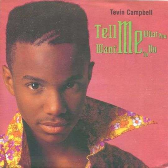 Coverafbeelding Tell Me What You Want Me To Do - Tevin Campbell