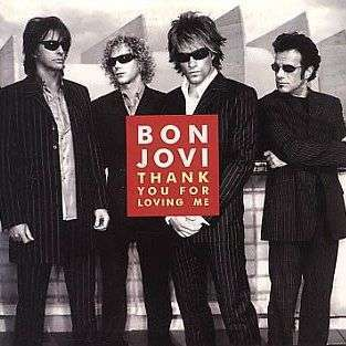 Coverafbeelding Thank You For Loving Me - Bon Jovi