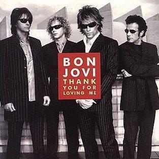 Coverafbeelding Bon Jovi - Thank You For Loving Me