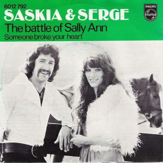 Coverafbeelding The Battle Of Sally Ann - Saskia & Serge