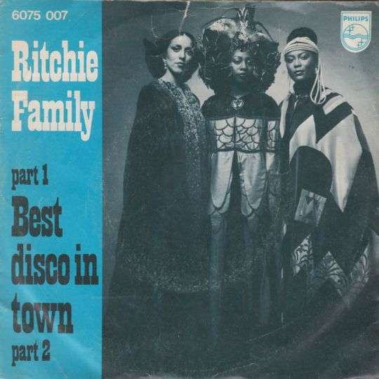 Coverafbeelding Ritchie Family - Best Disco In Town