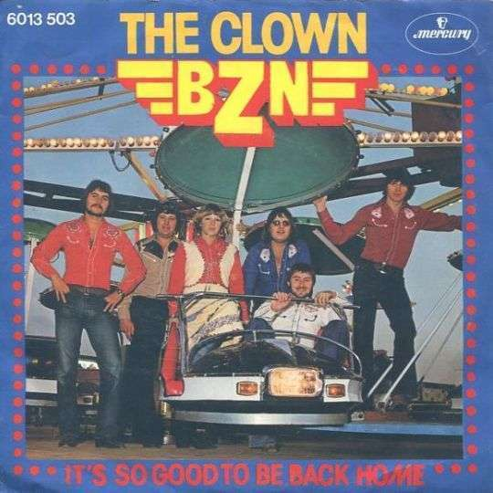 Coverafbeelding BZN - The Clown