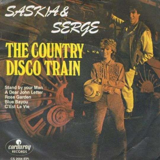 Coverafbeelding The Country Disco Train - Saskia & Serge