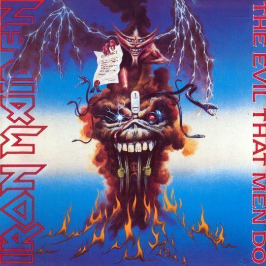 Coverafbeelding The Evil That Men Do - Iron Maiden