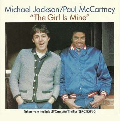 Coverafbeelding The Girl Is Mine - Michael Jackson/paul Mccartney