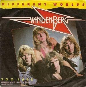 Coverafbeelding Vandenberg - Different Worlds