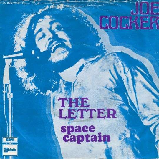 Coverafbeelding The Letter - Joe Cocker