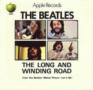 Coverafbeelding The Long And Winding Road - The Beatles