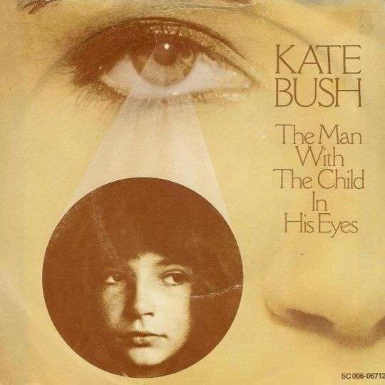 Coverafbeelding The Man With The Child In His Eyes - Kate Bush