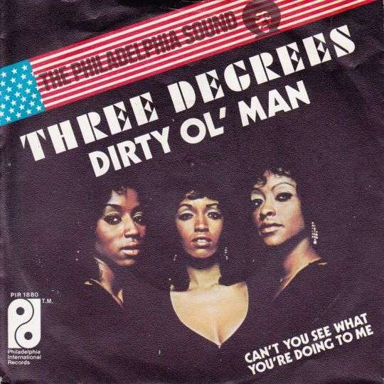 Coverafbeelding Dirty Ol' Man - Three Degrees