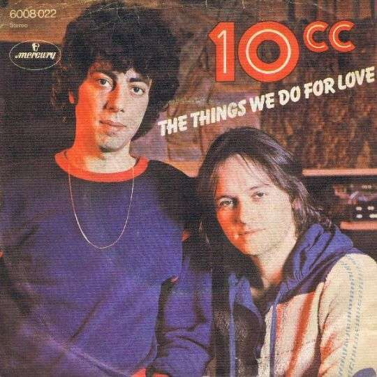 Coverafbeelding 10cc - The Things We Do For Love