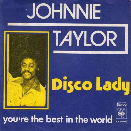 Coverafbeelding Johnnie Taylor - Disco Lady