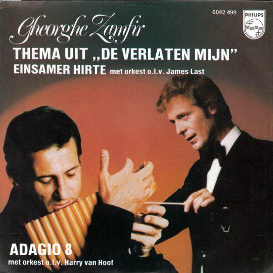 "Coverafbeelding Gheorghe Zamfir met Orkest o.l.v. James Last - Thema Uit ""De Verlaten Mijn"" - Einsam"