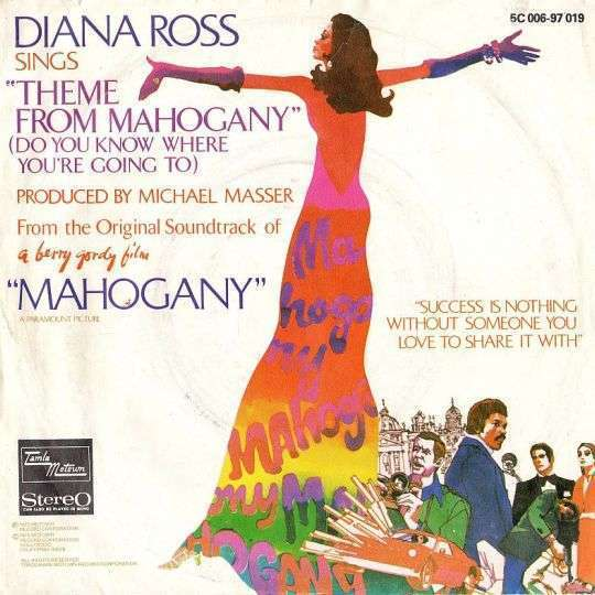 Coverafbeelding Theme From Mahogany (Do You Know Where You're Going To) - Diana Ross