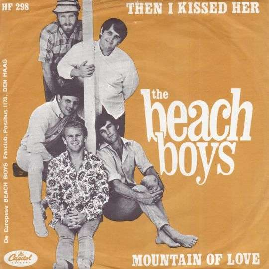 Coverafbeelding Then I Kissed Her - The Beach Boys