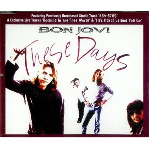 Coverafbeelding Bon Jovi - These Days