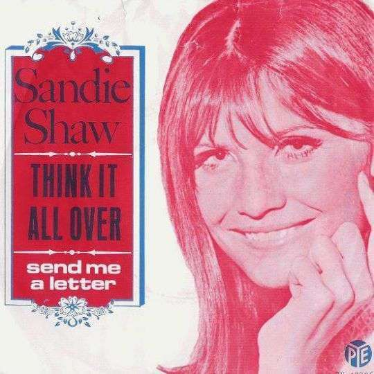 Coverafbeelding Think It All Over - Sandie Shaw