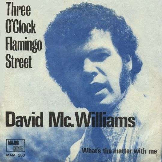 Coverafbeelding Three O'clock Flamingo Street - David Mc. Williams
