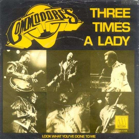 Coverafbeelding Three Times A Lady - Commodores
