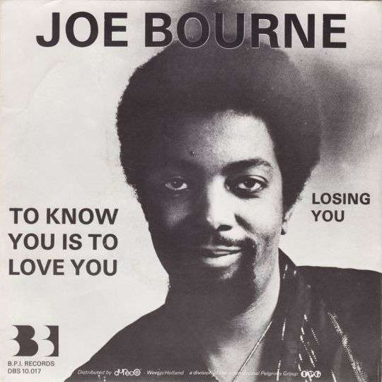 Coverafbeelding To Know You Is To Love You - Joe Bourne