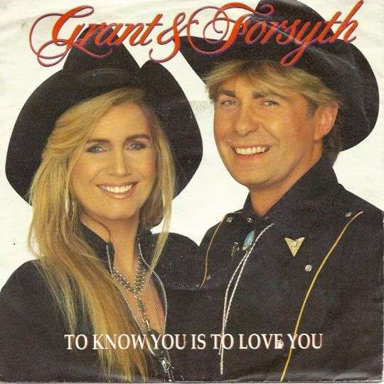 Coverafbeelding To Know You Is To Love You - Grant & Forsyth