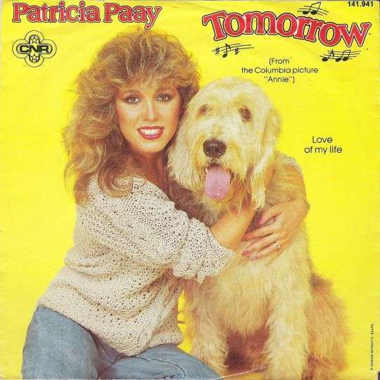 Coverafbeelding Tomorrow - Patricia Paay