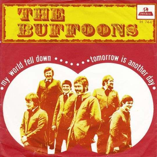 Coverafbeelding My World Fell Down/ Tomorrow Is Another Day - The Buffoons