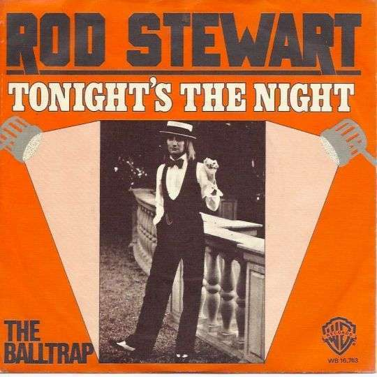 Coverafbeelding Tonight's The Night - Rod Stewart