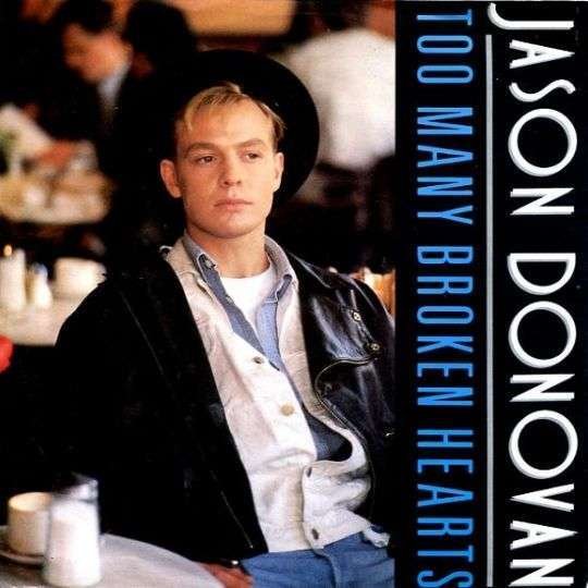 Coverafbeelding Too Many Broken Hearts - Jason Donovan