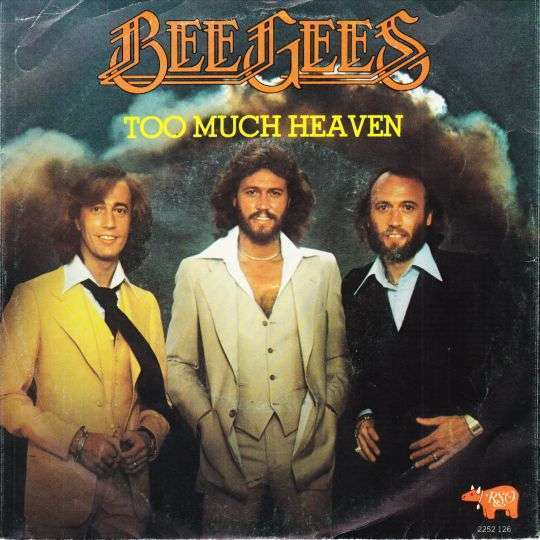Coverafbeelding Too Much Heaven - Bee Gees