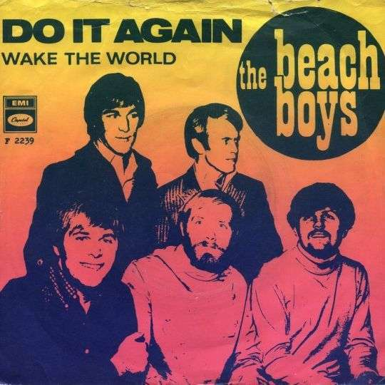 Coverafbeelding Do It Again - The Beach Boys