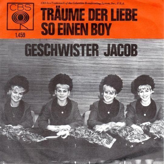 Coverafbeelding Geschwister Jacob - Träume Der Liebe