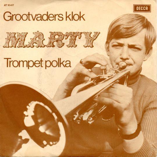 Coverafbeelding Grootvaders Klok / Grootvaders Klok/ Trompet Polka - Marty