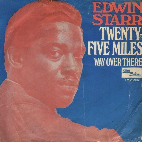 Coverafbeelding Edwin Starr - Twenty-Five Miles
