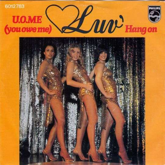 Coverafbeelding U.o.me (You Owe Me) - Luv'