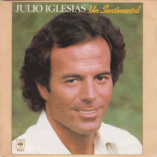 Coverafbeelding Un Sentimental - Julio Iglesias