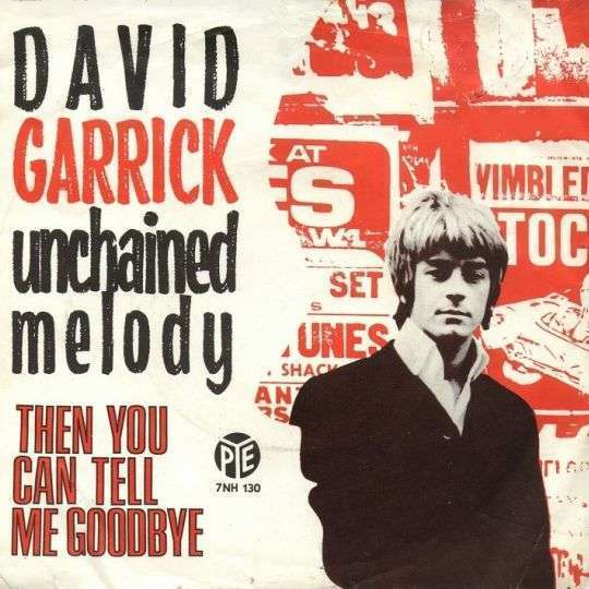 Coverafbeelding Unchained Melody - David Garrick