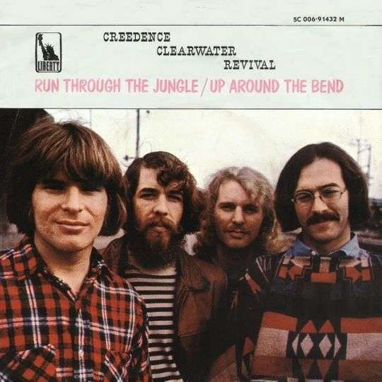 Coverafbeelding Creedence Clearwater Revival - Up Around The Bend