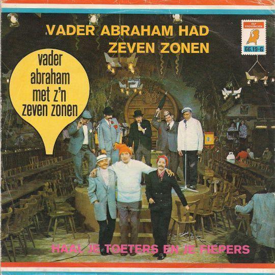Coverafbeelding Vader Abraham Had Zeven Zonen - Vader Abraham Met Z'n Zeven Zonen