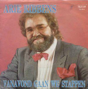 Coverafbeelding Vanavond Gaan We Stappen - Arie Ribbens