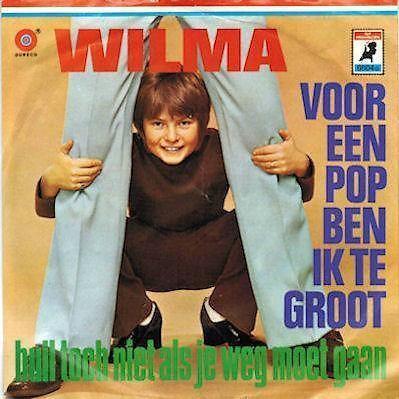 Coverafbeelding Wilma - Voor Een Pop Ben Ik Te Groot