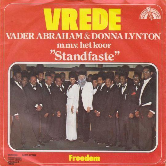 "Coverafbeelding Vrede - Vader Abraham & Donna Lynton M.m.v. Het Koor ""standfaste"""