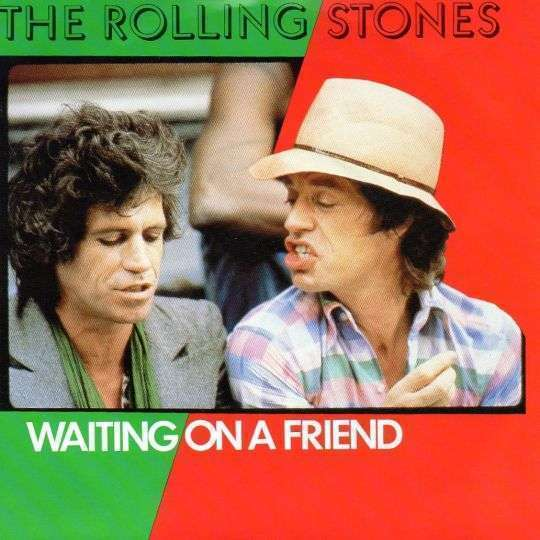 Coverafbeelding Waiting On A Friend - The Rolling Stones