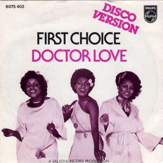 Coverafbeelding Doctor Love - First Choice